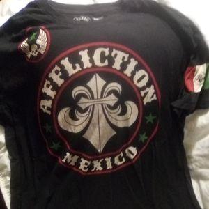 Men's Affliction Mexico Tee